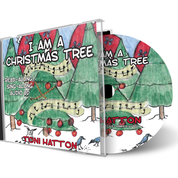 I Am a Christmas Tree Coloring Book and CD