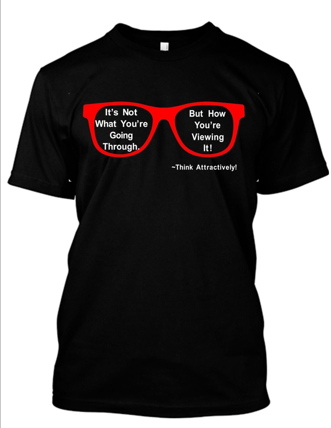 Its Not What Youre Going Through Red T shirt for Website