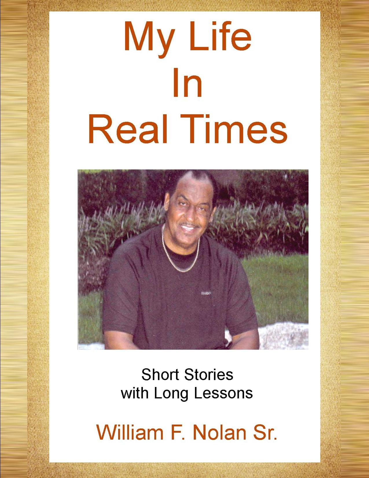 My Life In Real Times Book Cover Front