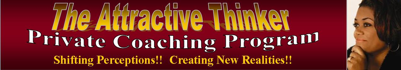 THP Attractive Thinker Private Coaching Banner