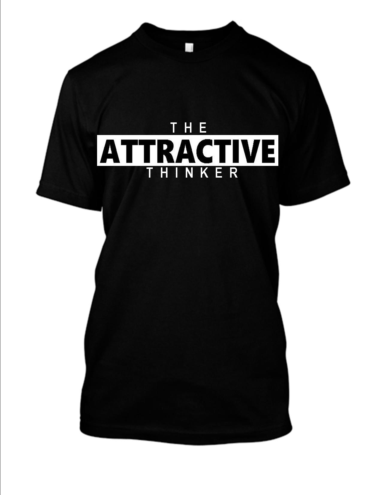 The Attractive Thinker Female T Shirt 2