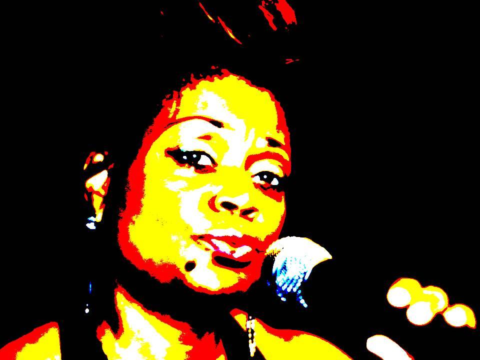 Dr.Toni Singing Black Dress