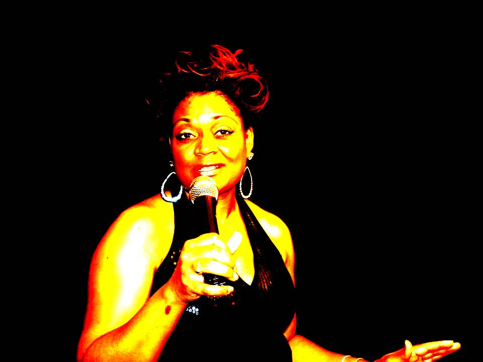 Dr. Toni Singing Black Dress