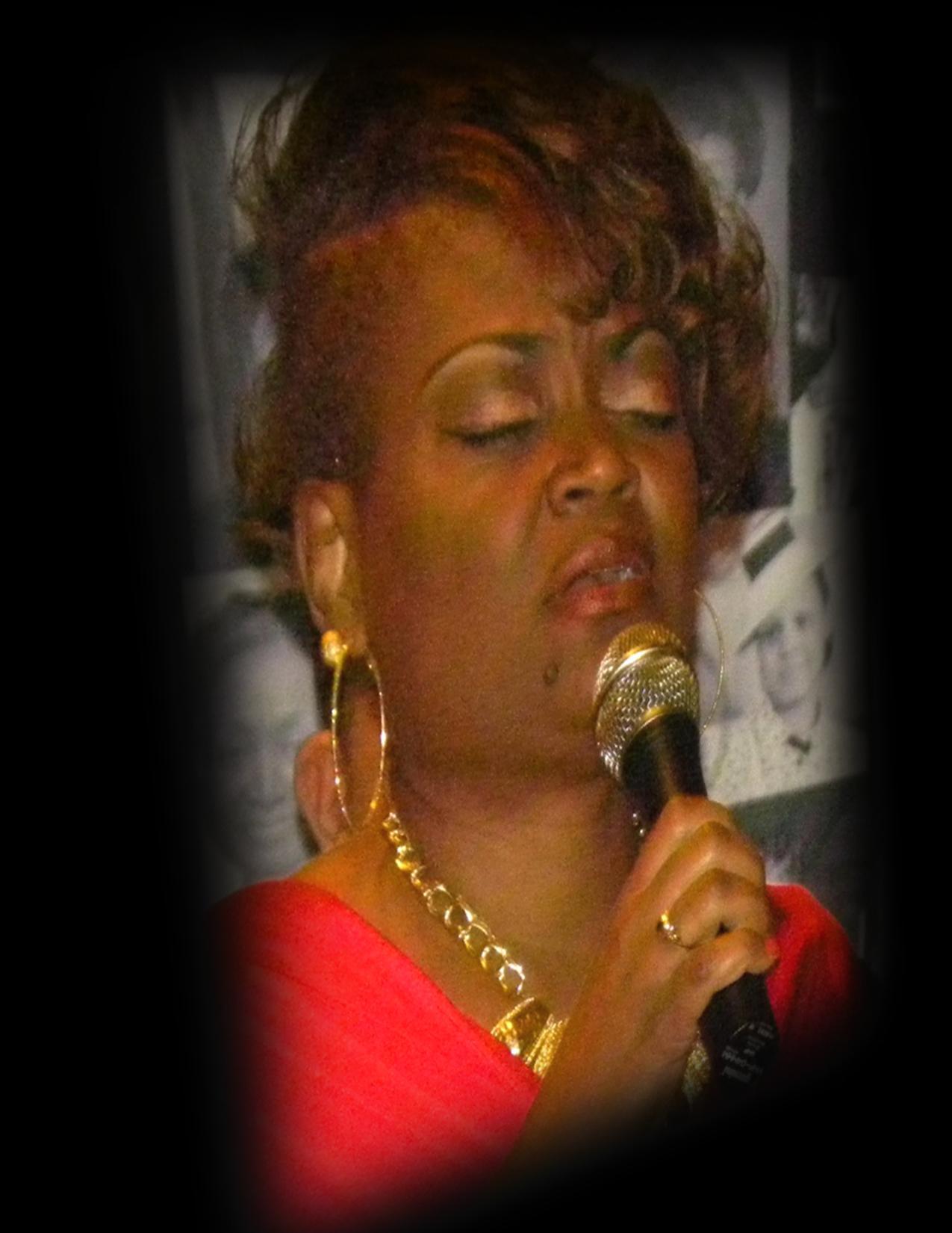 Dr. Toni Singing Red Dress